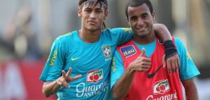Lucas & Neymar